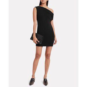 ENZA COSTA One-Shoulder Jersey Dress
